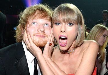 Ed Sheeran nega que música de Taylor Swift seja sobre ele