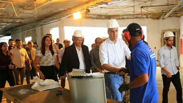 Goiás na Frente tem mais de 92% das obras em andamento