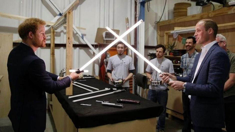 Príncipes Harry e William estarão em 'Star Wars: os Últimos Jedi'