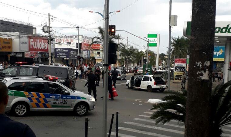 Refém e assaltante são mortos durante perseguição policial em Senador Canedo