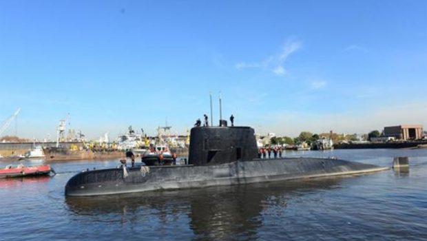 Marinha do Brasil e FAB auxiliam em buscas por submarino argentino