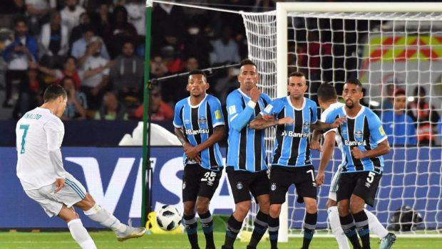 Com gol de Cristiano Ronaldo, Real Madrid bate o Grêmio por 1 a 0 e fatura o Mundial de Clubes