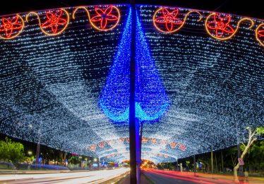 Iluminação de Natal na praça Tamandaré será inaugurada nesta sexta-feira