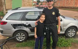 Servidores da unidade prisional de Senador Canedo realizam sonho de criança