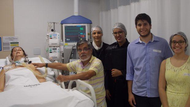 Casal celebra casamento em UTI de hospital de Goiânia