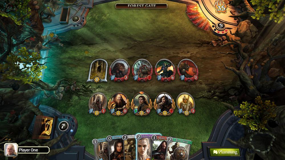 O Senhor dos Anéis vai ganhar jogo de cartas online