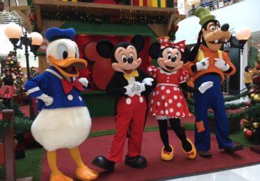 Mickey e sua turma voltam para última temporada de encontros no Goiânia Shopping