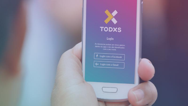 Aplicativo Todxs envia denúncias de agressão contra população LGBTI