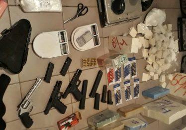 PM fecha laboratório de cocaína em Goiânia