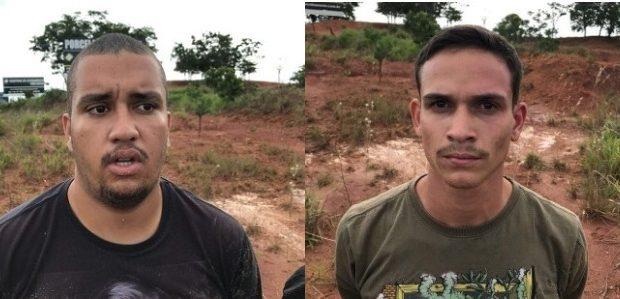 Após assalto à loja de celulares em Rio Verde, trio é preso durante perseguição do Graer