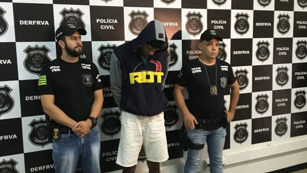 Homem é preso por extorquir vítimas de roubos de veículos em Goiás