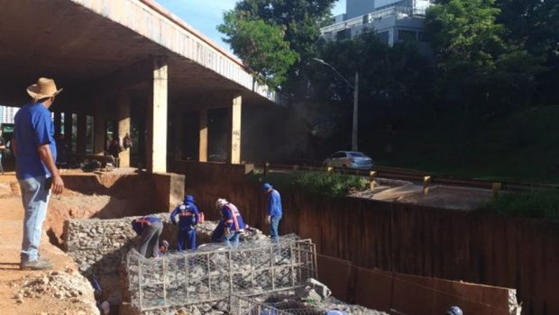 Obras da Marginal Botafogo devem ser concluídas até dia 6 de janeiro