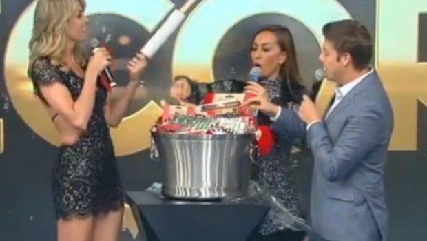 Ana Hickmann dá bolsa da Gucci e recebe kit de cozinha de amigo secreto