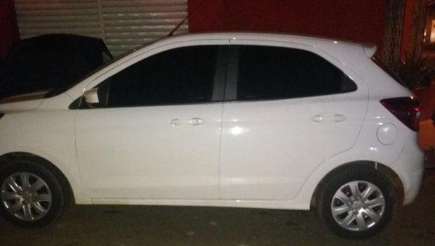 Sequestrador é preso e carro de motorista do Uber é localizado, em Anápolis