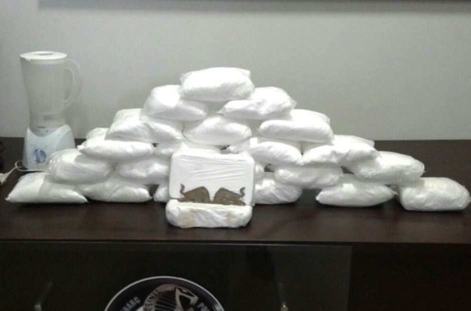 Polícia Civil apreende droga no valor de R$ 960 mil em Goiânia