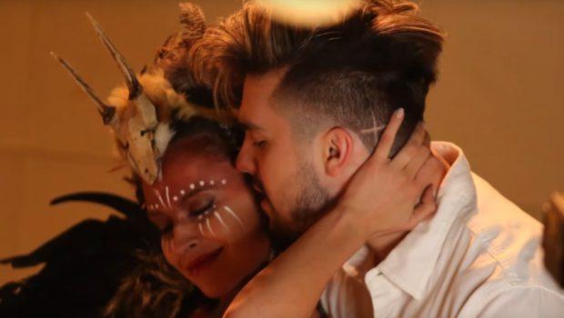 Luan Santana enlouquece com morena misteriosa no clipe de 'Check-in'