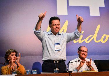 """Alckmin: """"Marconi é esteio do PSDB nacional"""""""