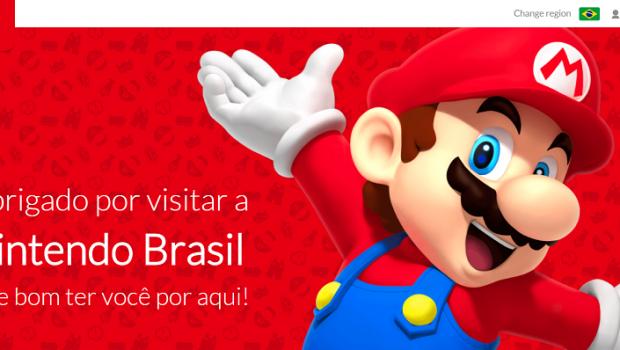 Nintendo volta a ter site brasileiro