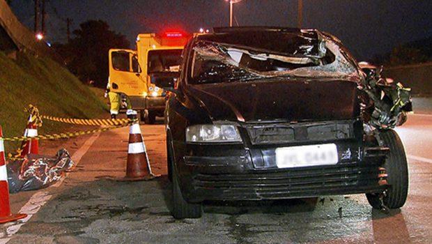 Motorista tem mal súbito e atropela pedestre na Grande SP; os 2 morrem