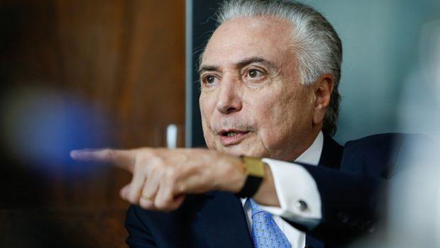 Em entrevista, Temer admite hipótese de apoiar Alckmin ou outro candidato de centro