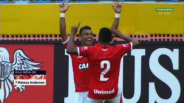 Vila Nova bate o Atlético-GO e vence o segundo clássico