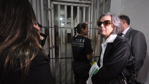 Ministra Cármen Lúcia fará 'blitz' em presídio de Aparecida de Goiânia
