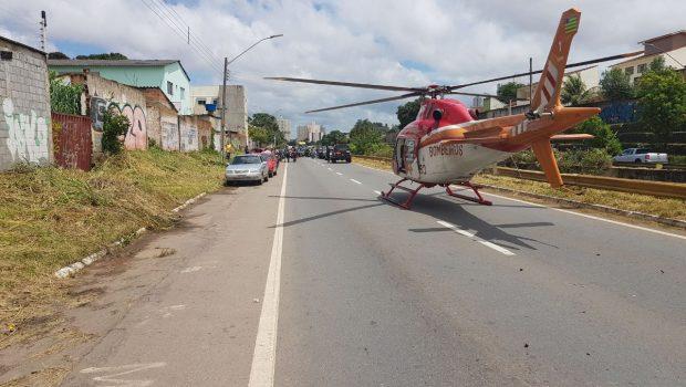 Idosa morre em acidente na Marginal Botafogo