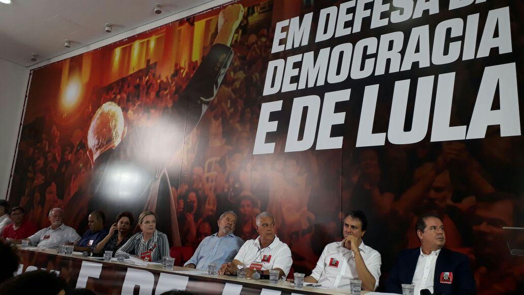 PT reage à condenação de Lula: