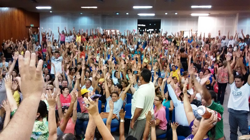 Servidores criticam sucateamento do SUS em Goiânia