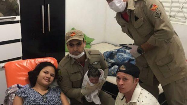 Bombeiros realizam parto de emergência em Itaberaí