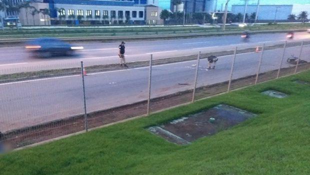 Detento do semiaberto é morto com mais de 20 tiros na BR-153, em Aparecida de Goiânia