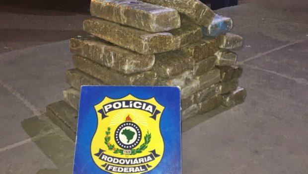Dois adolescentes são apreendidos transportando drogas, em Uruaçu