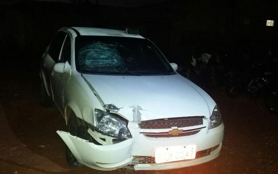 Menor suspeito de assaltar taxista em Mineiros é apreendido