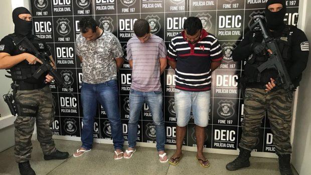 Presos últimos integrantes de quadrilha especializada em roubar cofres em Goiás