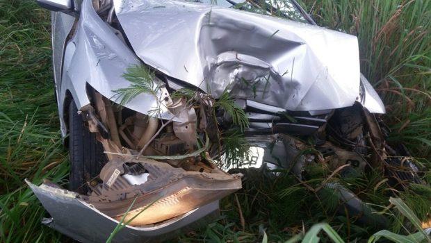 Idosa morre em acidente na BR-364, em Jataí