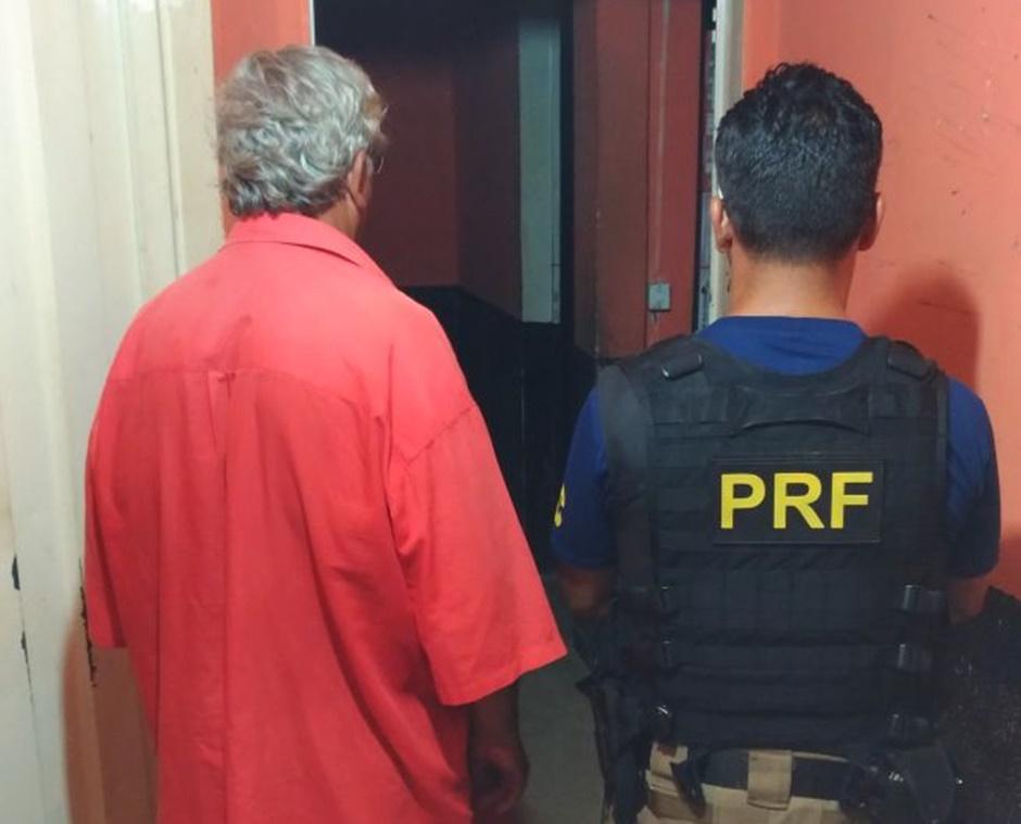 Idoso condenado de matar a própria filha é recapturado pela PRF, em Alvorada do Norte