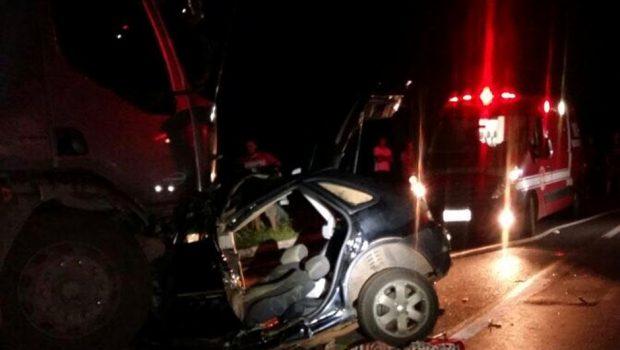 Homem morre em acidente na BR-020, próximo à Formosa