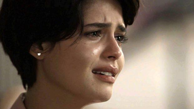 Duda desmaia após Adriana a reconhecer como mãe em 'O Outro Lado do Paraíso'