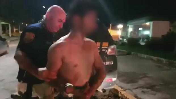 Homem é preso por dirigir embriagado e ato obsceno na BR-153, em Morrinhos