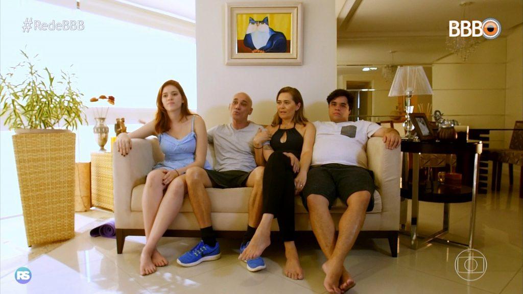 BBB 18 estreia família de quatro pessoas confinada na casa do reality