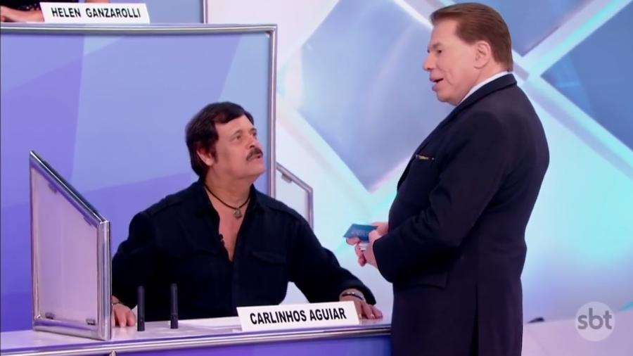 Silvio Santos manda SBT recontratar o humorista Carlinhos Aguiar