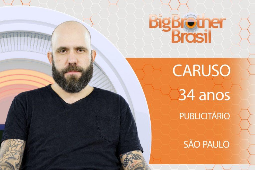 Paulistano da Mooca, Caruso já é considerado o 'filhinho de papai' do 'Big Brother'