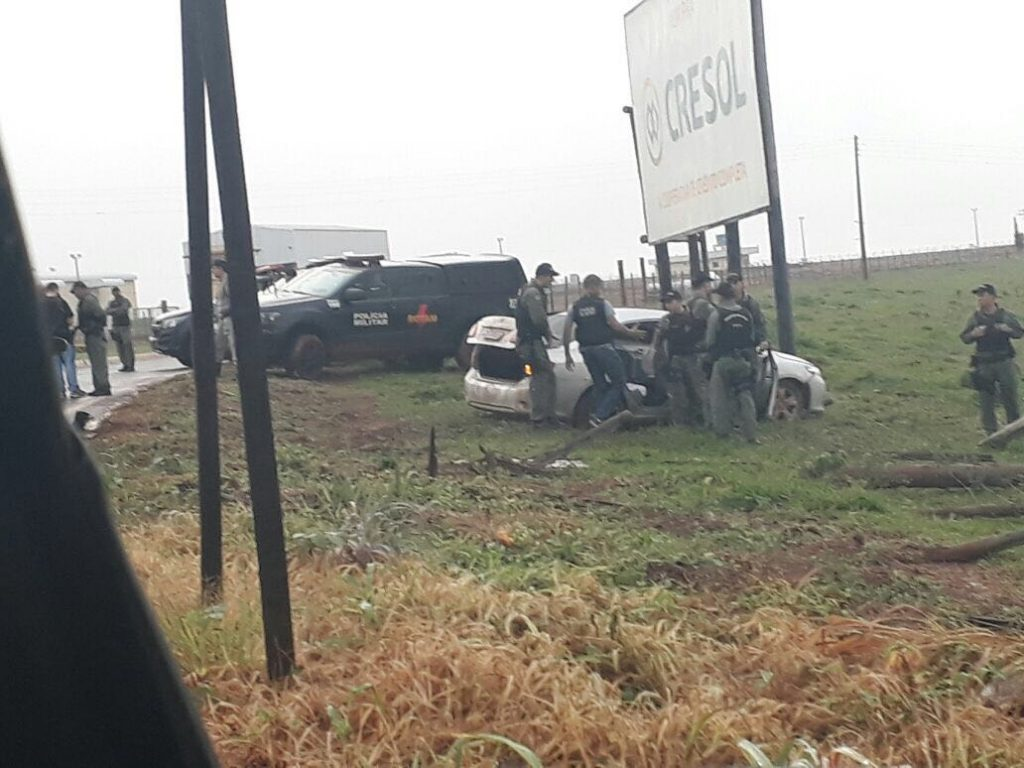 Explosão de banco em Silvânia termina com quatro mortos; três bandidos e um morador