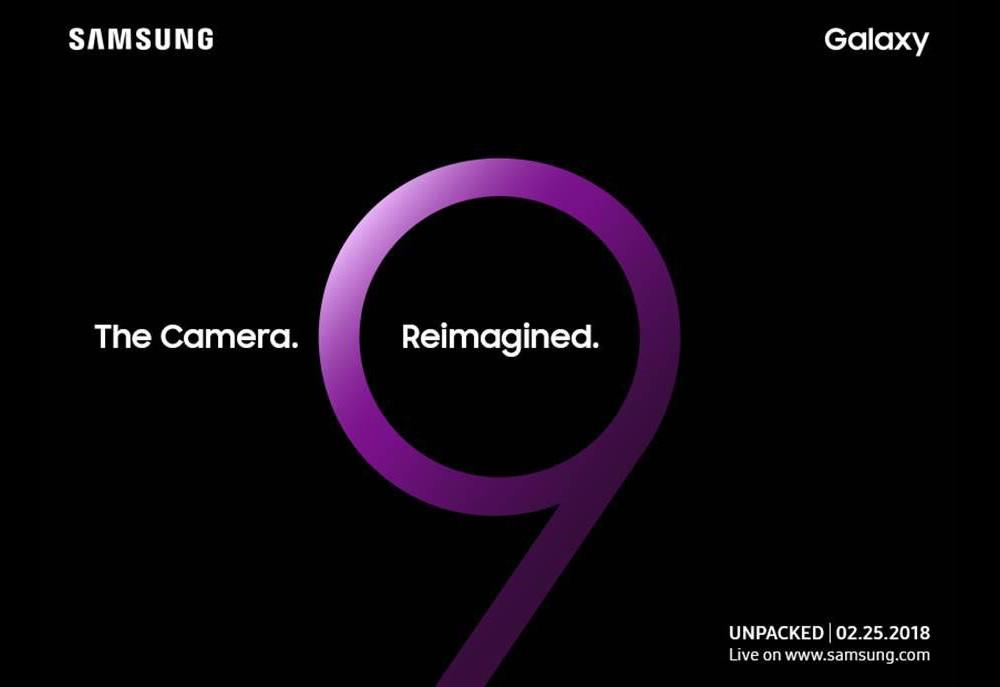 Samsung confirma revelação do Galaxy S9 para o dia 25 de fevereiro