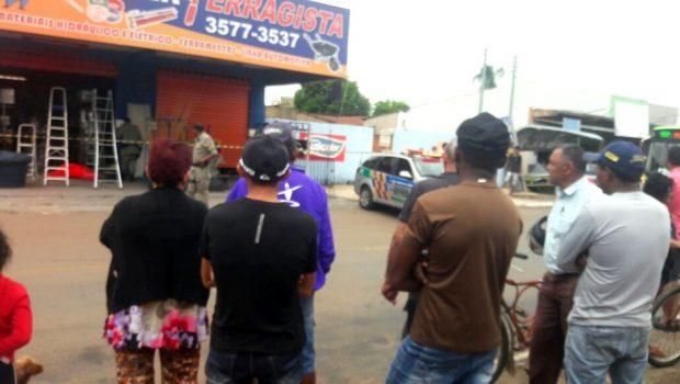 Homem é morto a tiros no Setor Renata Park em Trindade