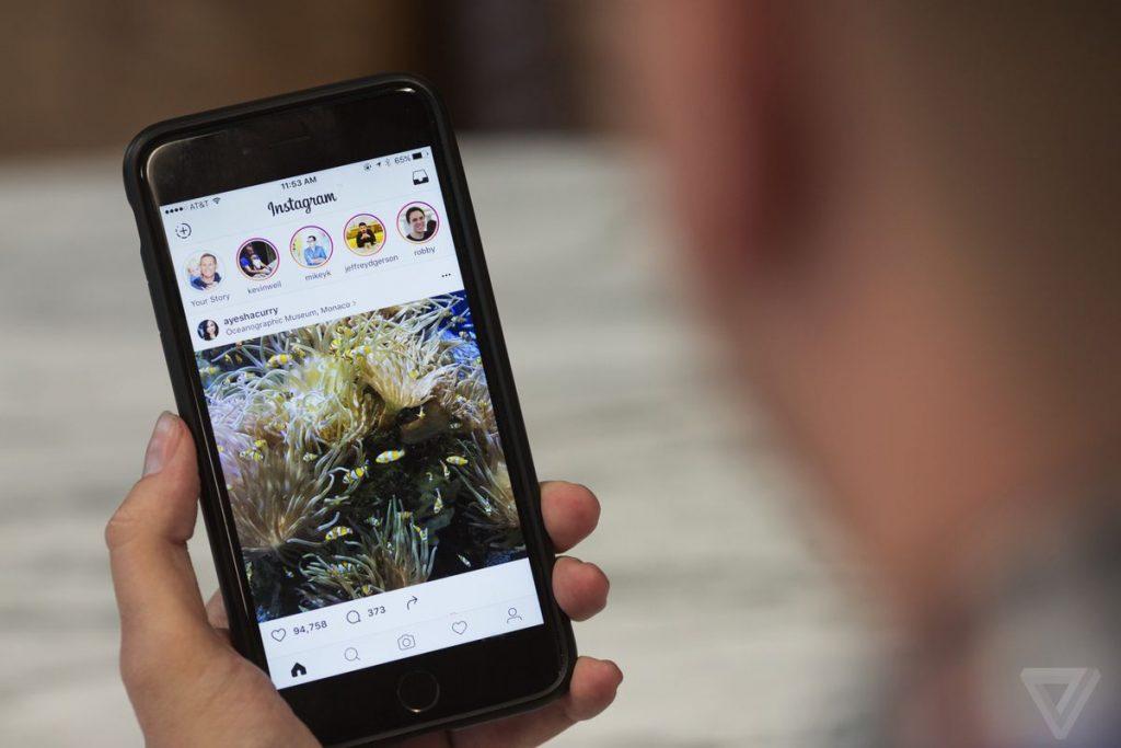 Instagram pode dedurar em breve se alguém tirou print da sua história