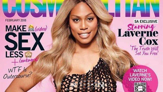 Laverne Cox é a primeira atriz transexual na capa da Cosmopolitan