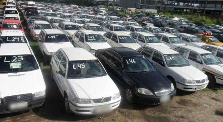 Em 2017, mais de 20 mil veículos foram retidos pelo Detran em Goiás