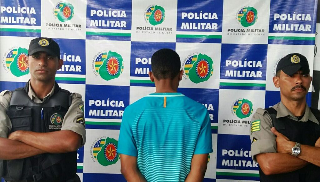 Homem é preso por tráfico de drogas no Bairro Capuava, em Goiânia