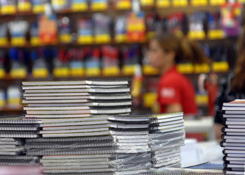 Variação em preços de material escolar chega a 233% em Goiânia